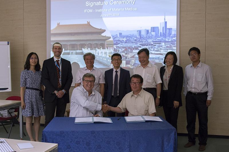 IFOM -IMM firma accordo