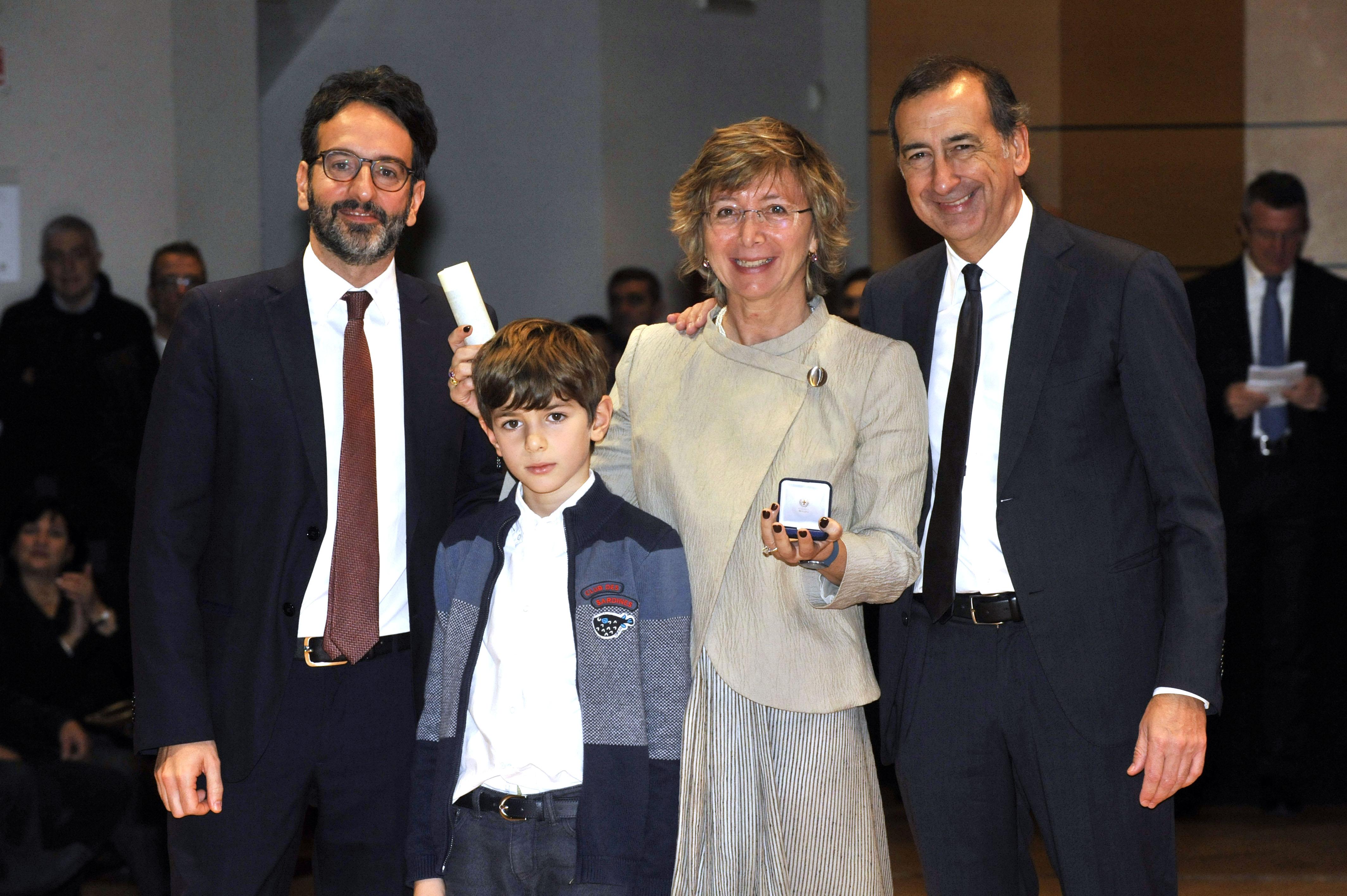 Simona Polo - Premiazione Ambrogino d'Oro 2018